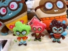Nosellots in plush and plastin by Scott Tolleson x MAQET