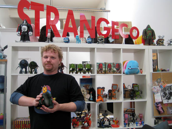 Jim Crawford at STRANGEco