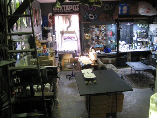 Task One studio visit