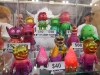 Custom toys at Spankystokes booth