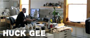 Huck Gee Studio Visit