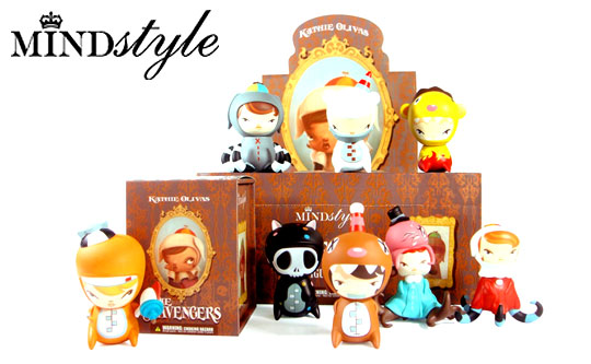 blind box toys by MINDstyle