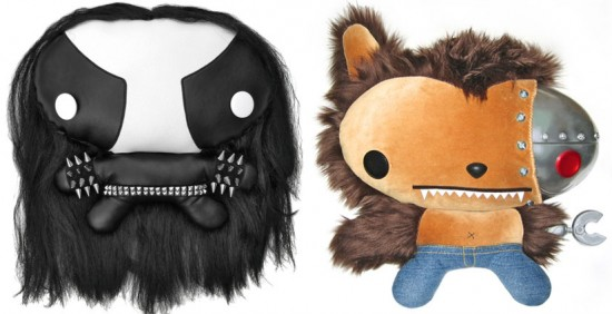 Cuddly Rigor Mortis: Odin and Woofbot