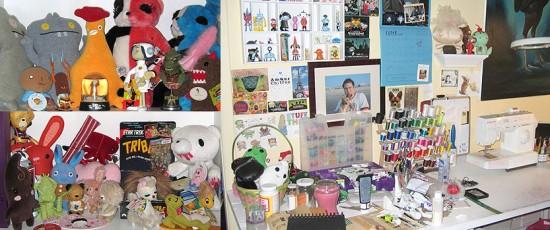 The Cuddly Rigor Mortis studio