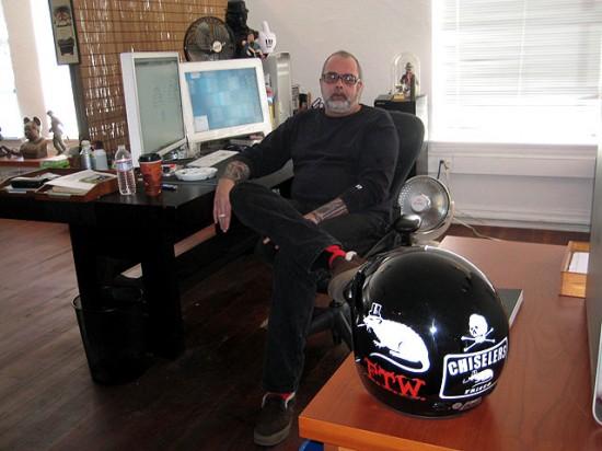Frank Kozik interview and studio visit
