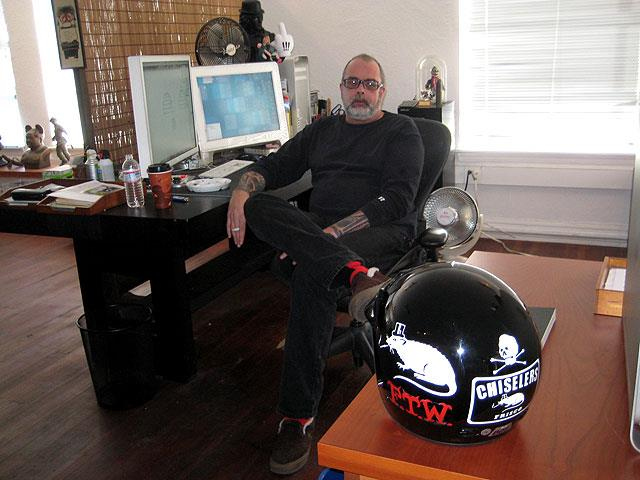 Frank Kozik interview and studio visit