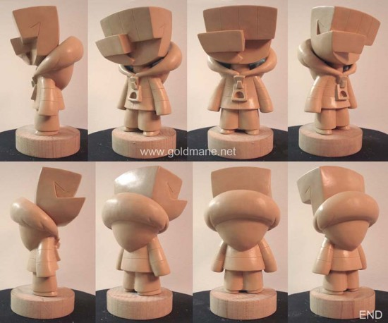Money Grip Wax Sculpture by Argonaut Resins