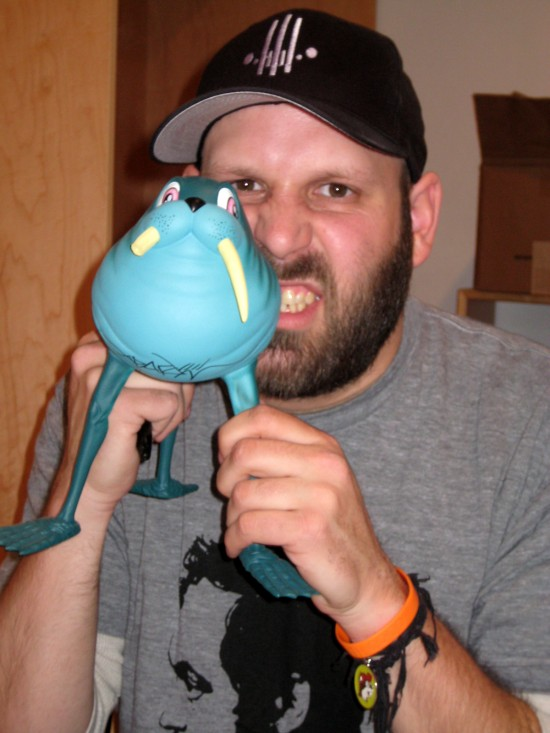 Alex Pardee and Walrus Rider
