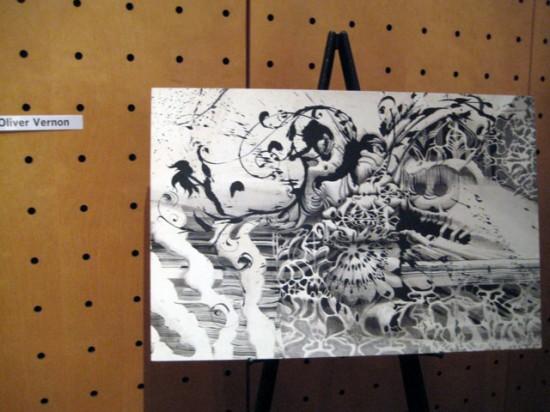 Oliver Vernon art
