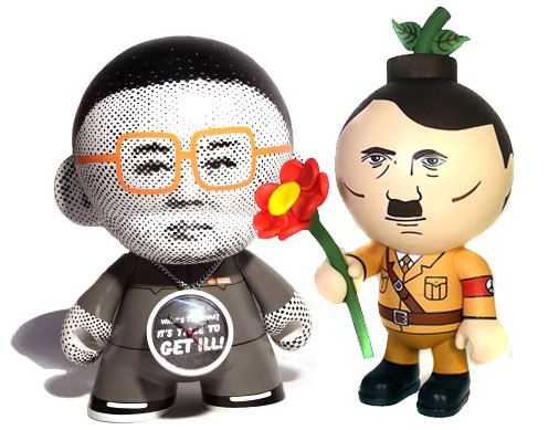 Kim Jong-Il and Peace Hitler by Okedoki