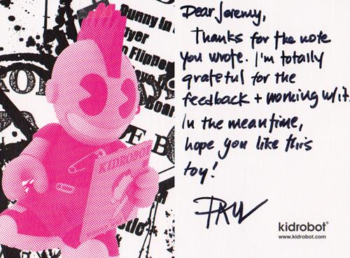 praise for Jeremy Brautman from Paul Budnitz, founder of Kidrobot