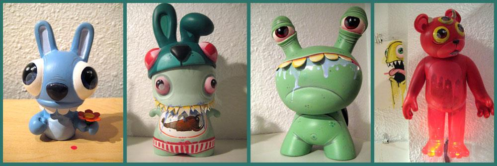 Betso for 5-Eyed Dragon custom toy show