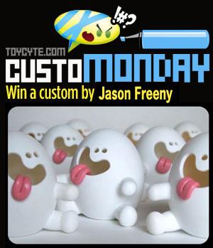 CustoMONDAY: Jason Freeny artist