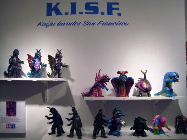 Dreamrocket for Kaiju Invades San Francisco