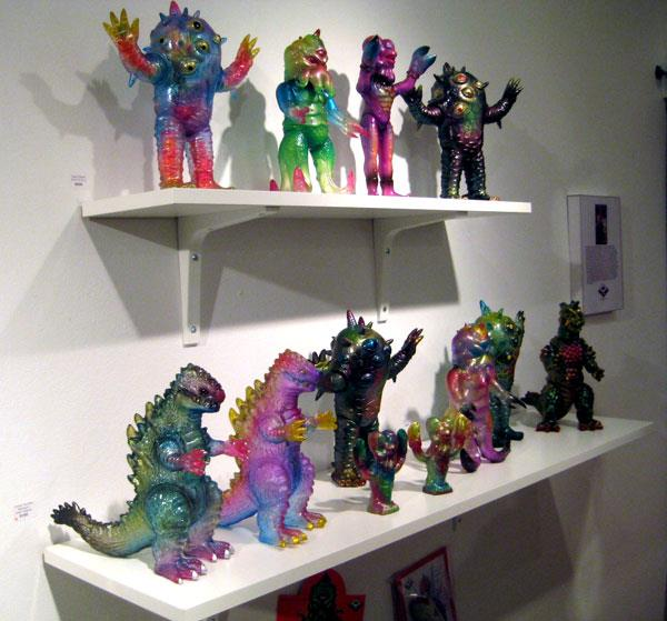 Max Toy Co for Kaiju Invades San Francisco