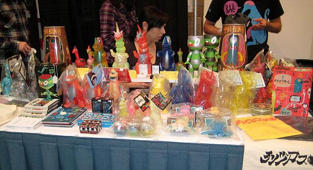 Tim Biskup at Vinyl Toy Network Winter 2008