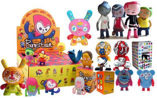 Jon Burgerman blind box toys
