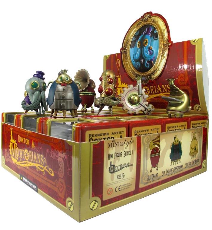 Mechtorians minifigures blind box toys by Doktor A