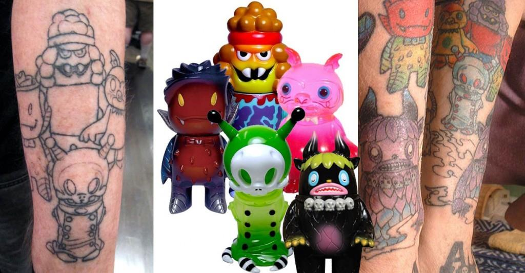 100 Tattoos Inspired By Art And Toys