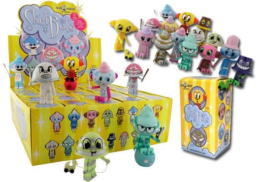 Sketbots blind box toys by Sket One