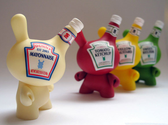 Disney Bites Into Kidrobot S Condiments