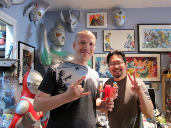 Sergey Safonov and Mark Nagata studio visit