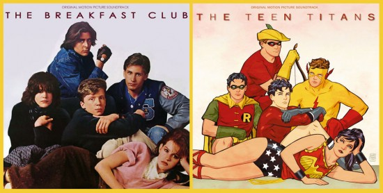 Breakfast Club 80s Superheroes by Cliff Chiang