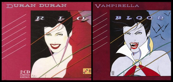 Duran Duran 80s Superheroes by Cliff Chiang