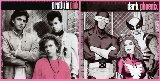 Pretty in Pink 80s Superheroes by Cliff Chiang