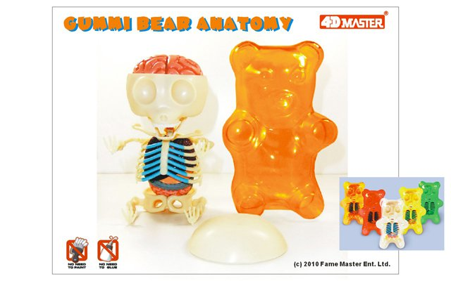 Gummi Anatomy by Jason Freeny