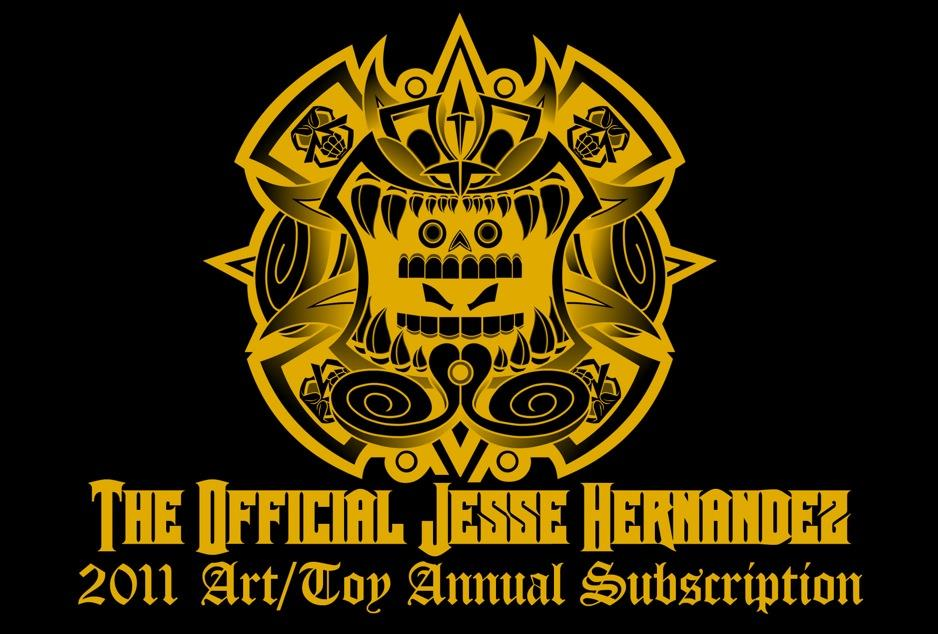 Jesse Hernandez Art/Toy Annual Subscription
