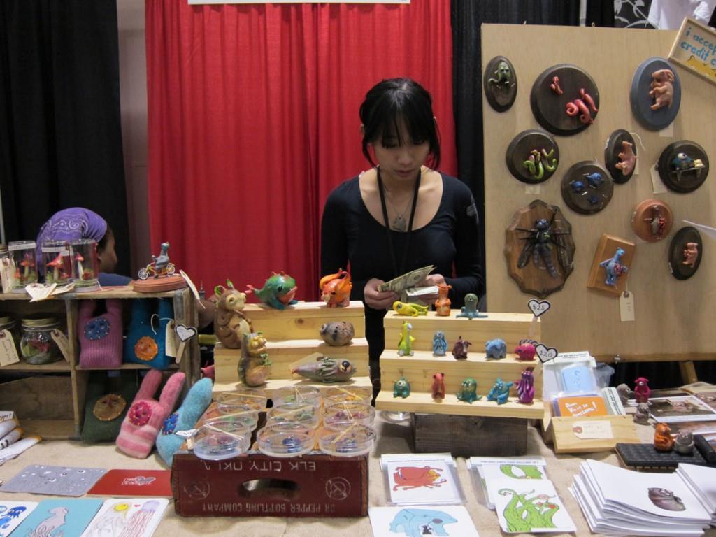 Shing Yin Khor at DesignerCon