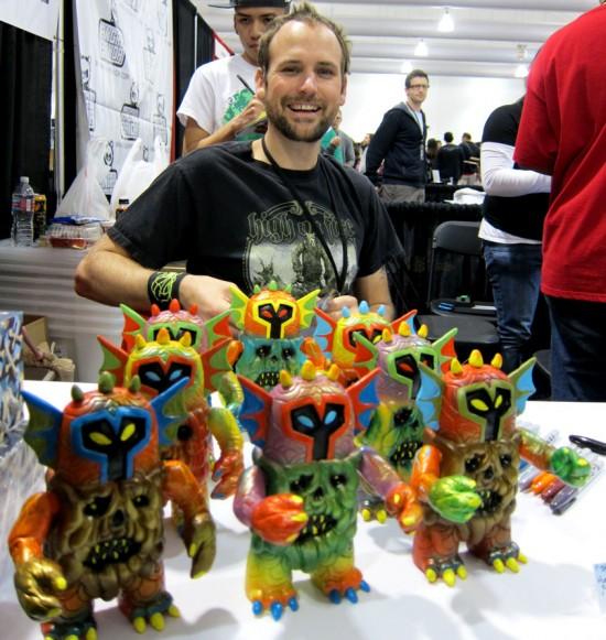 The Outsider resin Skinner toys