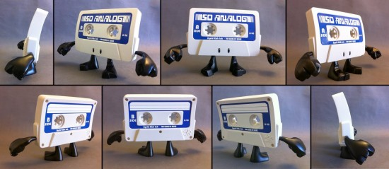 Squid Kids dead tech toys: cassette tape