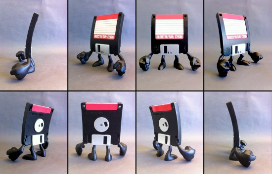 Squid Kids dead tech toys: floppy disk