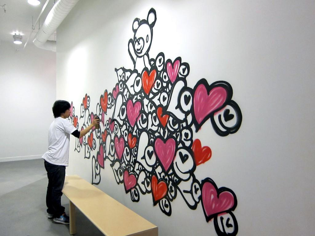 LOVE MOVEMENT: The Love Wall