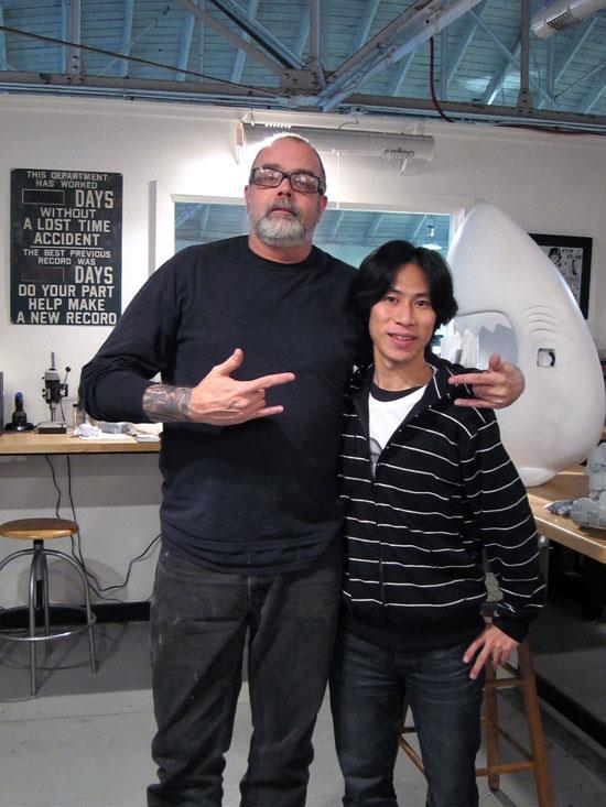 Frank Kozik and Shin Tanaka