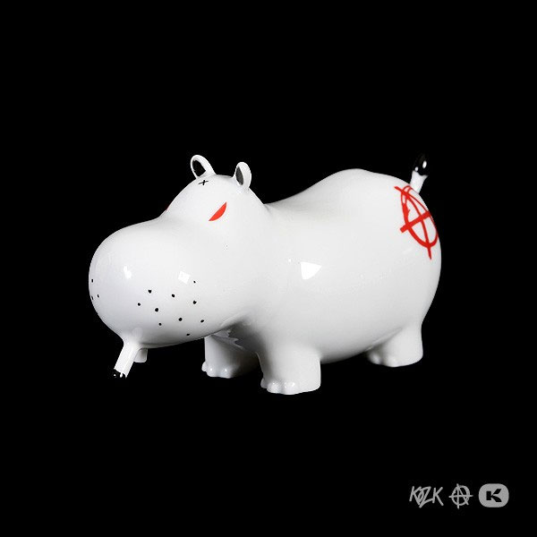 Frank Kozik Potamus in Porcelain