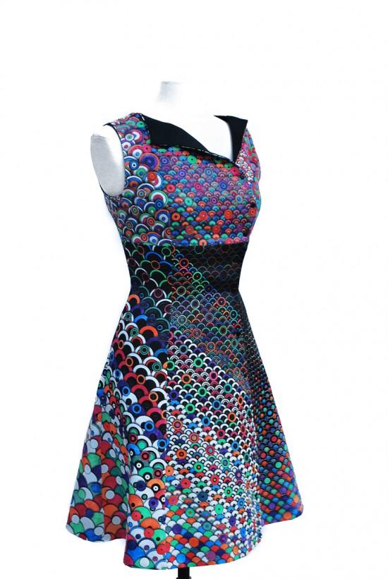 Colour In Dress by BERBER & SOEPBOER (The DIY Dress)