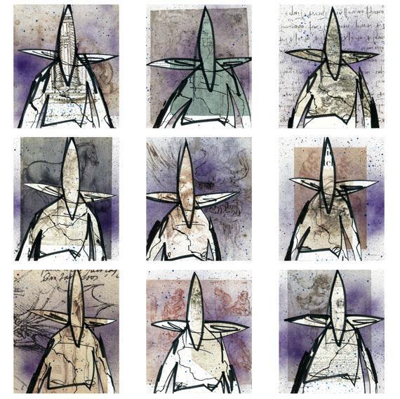 Futura Art For Sale: Da Vinci Series Prints