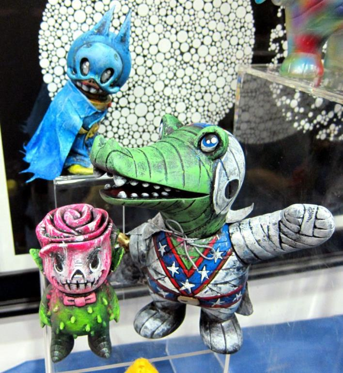 Super7 1-Offs Custom Toys Show