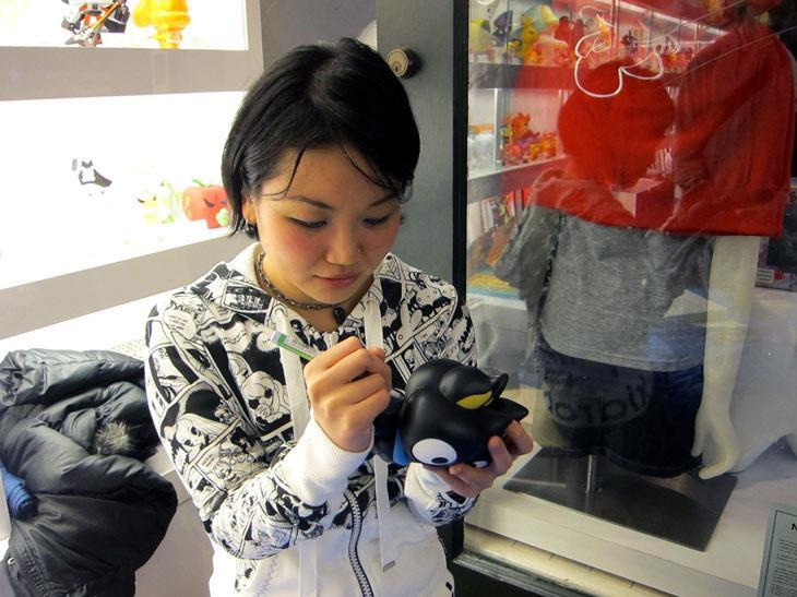 Junko Mizuno signing at KRSF