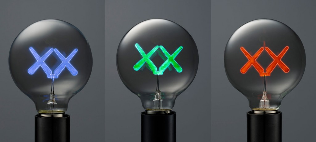 KAWS x The Standard Lightbulbs