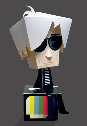 Andy Warhol Paper Toy
