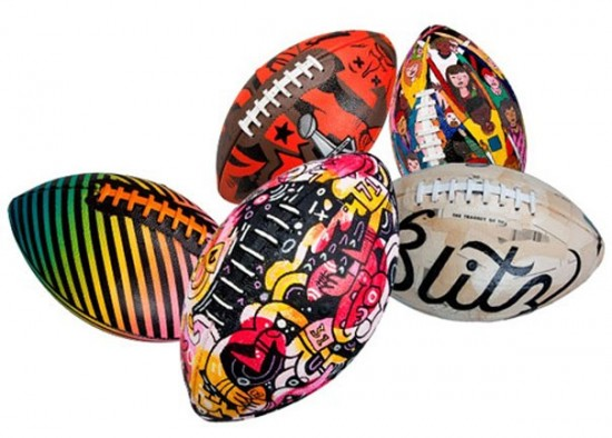 Customized Footballs for the Super Bowl
