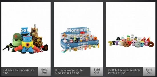 Kidrobot fire sale