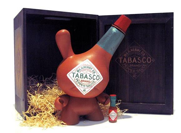 Tabasco Dunny by Sket One