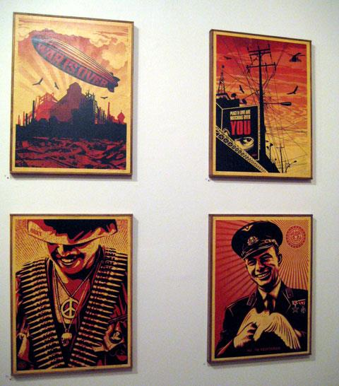 Shepard Fairey for Graphic Attack