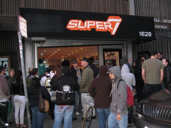 Super7 San Francisco (Japantown) storefront