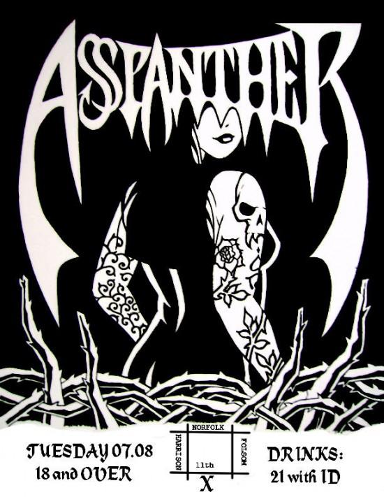 Asspanther poster by Bert Gatchalian